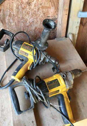Two dewalt drills for Sale in Warrenton, VA