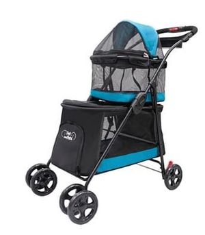 Pet and Pets Double Decker Pet Stroller for Dogs, Cat, and Small Animals for Sale in Ontario, CA