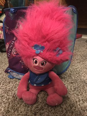 Trolls toy and blanket for Sale in San Jose, CA