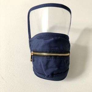 New Navy Blue Face Mask with Shield and Zipper for Sale in Fort Washington, MD