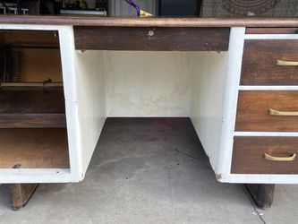 Mid-Century Solid Wood Desk for Sale in Battle Ground,  WA