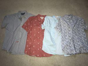 Men's short sleeve button down bundle for Sale in Clovis, CA