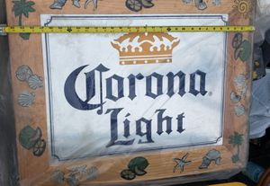 Corona Light wood sign for your bar/ game room for Sale in Downey, CA