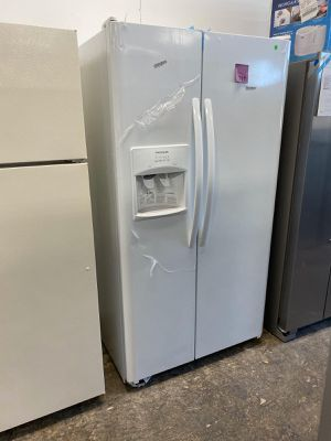 WE DELIVER! Frigidaire Refrigerator Fridge Side by Side With Warranty #768 for Sale in Levittown, PA