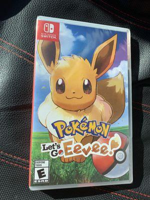 Pokemon Let's Go Eevee! (Nintendo Switch) brand new copy for Sale in Elk Grove, CA