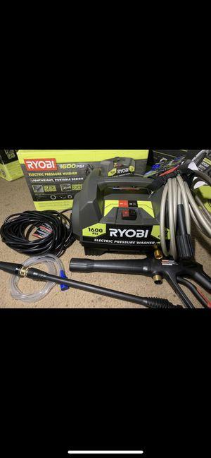 Ryobi 1600 Psi electric pressure washer for Sale in Pomona, CA