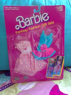 NEW in pkg Barbie fashions clothes from 1980s for Sale in Spokane Valley, WA