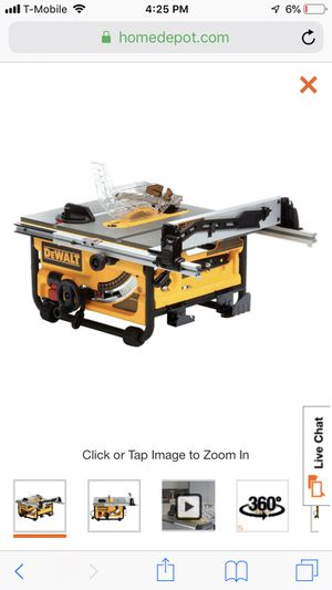 Dewalt 15 Amp 10 in. Compact Job Site Table Saw with Site-Pro Modular Guarding System for Sale in Brooklyn, NY