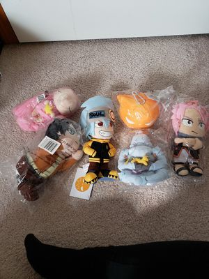 Various Cute Anime Plushies. for Sale in Everett, WA