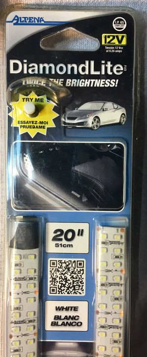 """LED Lights for car or Truck-double row 20""""-white for Sale in Fort Myers, FL"""