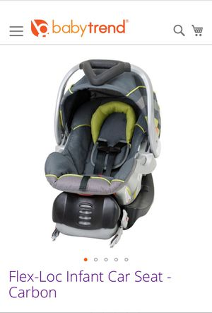 Baby Trend Flex-Loc Infant car seat (with base!) for Sale in Honolulu, HI