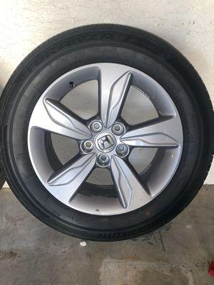 "18"" inch 2019 Honda Odyssey wheels rims. New with tires. Bridgestone 235/60/18. for Sale in Diamond Bar, CA"