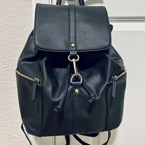 Black Leather Backpack with Top Handle for Sale in San Francisco, CA