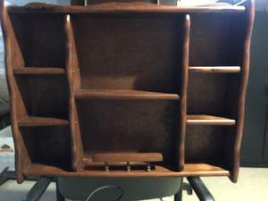 Dark maple shelf for Sale in Bridgewater, MA