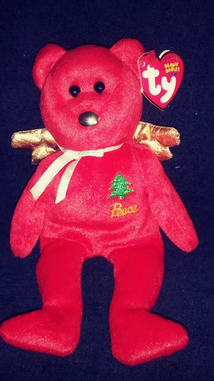 Beanie Baby Bear peace for Sale in Montgomery Village, MD