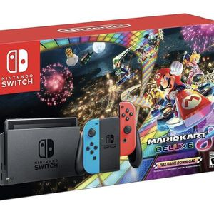NEW!!! NINTENDO SWITCH BUNDLE - Mario Kart Deluxd for Sale in Hollywood, FL