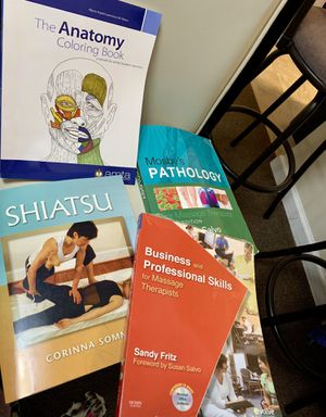 Books for massage therapist for Sale in Hartford, CT