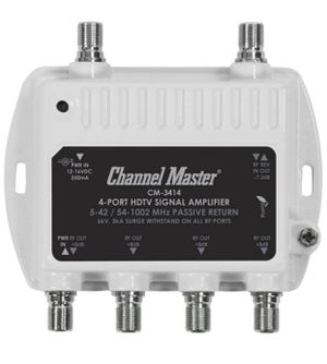 Channel Master 4-Port HDTV Signal Amplifier for Sale in Colleyville, TX