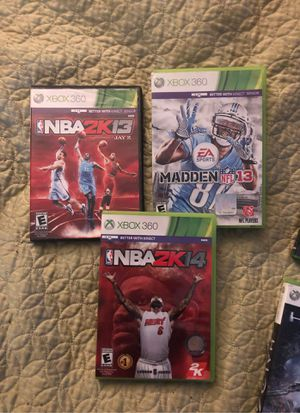 Xbox 360 sports games for Sale in Columbus, OH