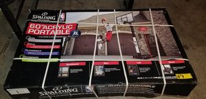 """60"""" Acrylic Basketball Hoop Portable for Sale in Fort Worth, TX"""