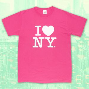 I LOVE NY Vintage Authentic Hot Pink Men's Tee for Sale in Oro Valley, AZ