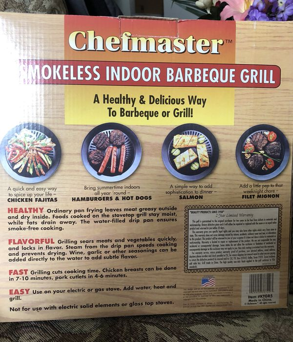Smokeless Indoor Bbq grill/Stove top