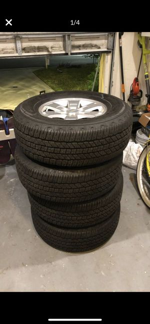 Chevy Colorado/Canyon Rims with tires for Sale in Margate, FL