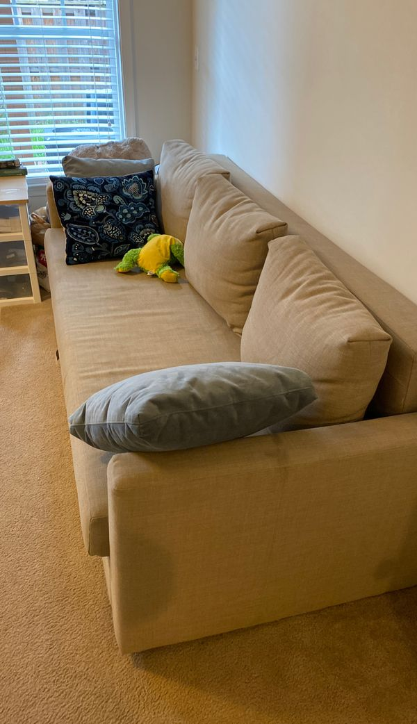 Ikea sofa , can turn to bed