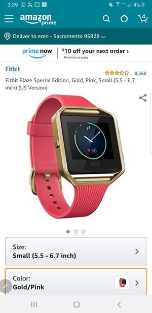 Fitbit Blaze for Sale in Sacramento, CA