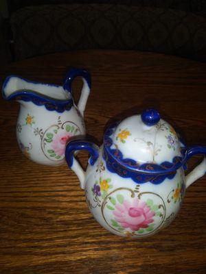 Antique Creamer & Sugar set for Sale in Placentia, CA