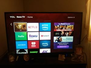 """TCL 42"""" ROKU TV for Sale in Boston, MA"""