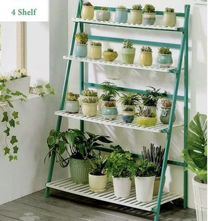 🌱 BRAND NEW Flower Pot Plant Stand 4 Tiers Flower Planter Rack Shelf Shelves Organizer for Sale in Los Angeles, CA