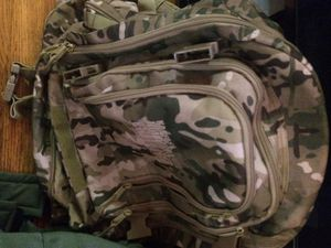 Nike Bag, Black backpack, and army NG backpack. for Sale in Joplin, MO
