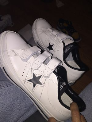 Converse One Star Ox '70 low addict Japan men's sneakers w/ Straps - BLK/WHT Size 9 for Sale in Chandler, AZ