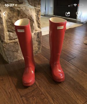Women's hunter rain boots for Sale in Cumming, GA