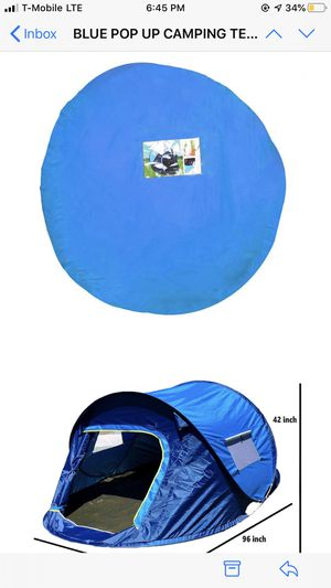 Pop up Camping or Beach Tents ready to use for Sale in Fountain Valley, CA