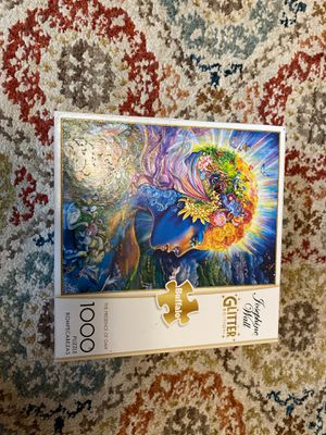 Josephine Wall Glitter Edition 1000 piece puzzle - The Presence of Gaia for Sale in Ithaca, NY