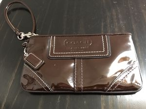 Brown Coach Wristlet for Sale in Arvada, CO