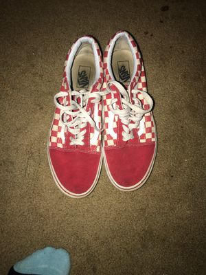 Old skull vans/ size 12 for Sale in Hoquiam, WA