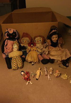 Antique dolls large lot for Sale in Issaquah, WA