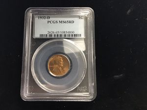 1932-D PCGS MS 65 RD 1 C for Sale in Bakersfield, CA