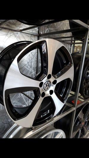16x7 5x112 +45 be Volkswagen gti style wheels fits golf Jetta rims wheels tires for Sale in Tempe, AZ