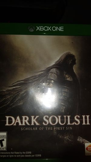 Dark souls 2 scholar of the first sin for Sale in Detroit, MI