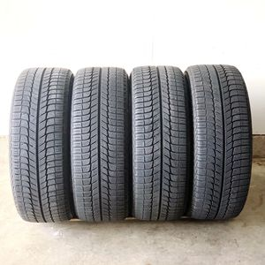 "19"" Michelin X-ICE 245/45/19 Tire Set with FULL 10/32 Tread for Sale in Gainesville, VA"