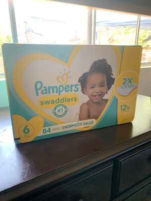 Pampers caja nueva sin abrir # 6 for Sale in Oceanside, CA