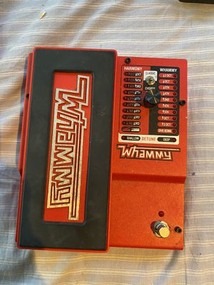 Whammy pedal for Sale in Carmel Hamlet, NY