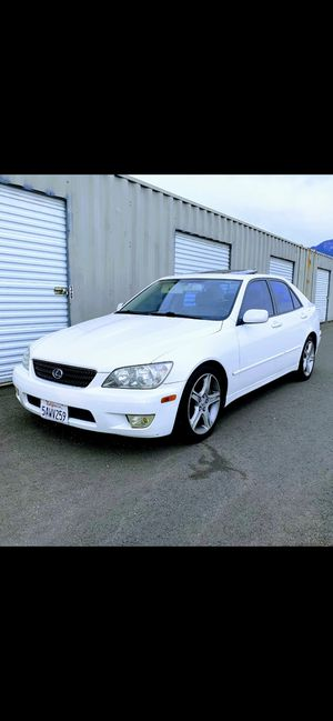 2003 Lexus is300 super clean, no accidents, adult owned for Sale in Chino, CA