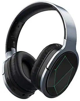 Azeada Wireless Gaming Headphones Mobile Gaming Bluetooth Headphones with Microphone Deep Bass Wireless Headphones Over Ear, Cool LED Lights for Sale in Altamonte Springs, FL