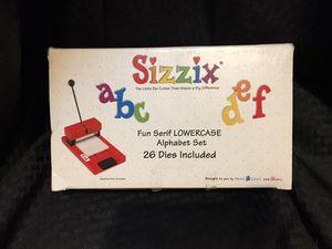 Sizzix Original Die-Cut Fun Serif Lowercase Alphabet for Sale in San Diego, CA
