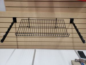 Slatted Store Wall Panels, Store shelves, & Wall Hangers, for Sale in Houston, TX